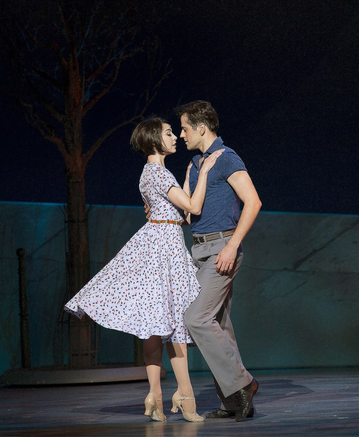"American2 Leanne Cope and Robert Fairchild in ""An American in Paris."""