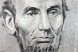 Abraham Lincoln on the $5 bill