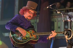 Primus frontman Les Claypool performs with the band Nov. 8 at The Tabernacle in Atlanta.
