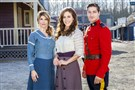 "Lori Loughlin, Erin Krakow and Daniel Lissing star in Hallmark Channel's ""When Calls the Heart,"" which premieres its second season at 8 p.m. Saturday."