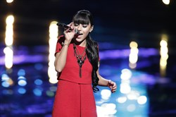 "Mia Zanotti was eliminated on Tuesday's results show of ""The Voice."""