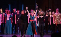 "Pine-Richland High School's production of ""Pippin."""