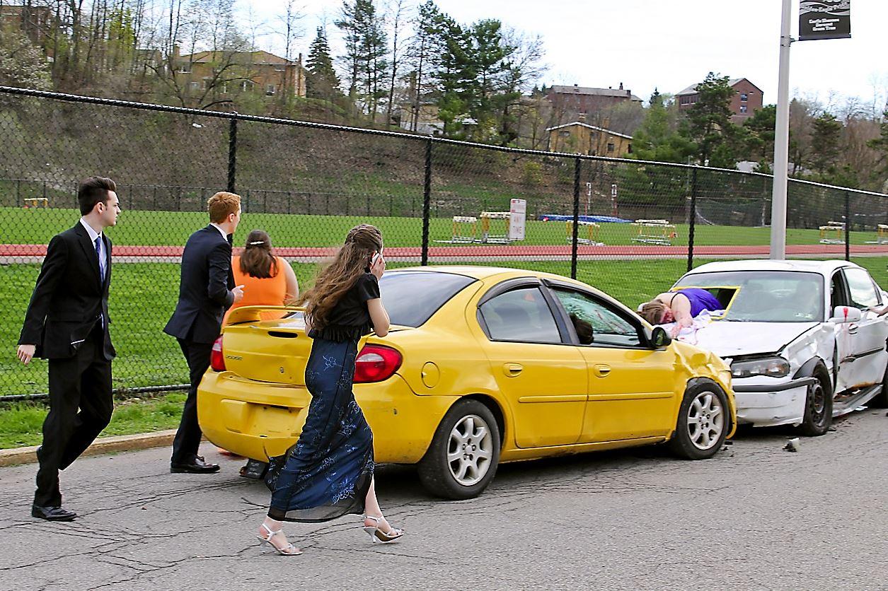 Keystone Oaks Seton La Salle Mock Crash Serves As Real