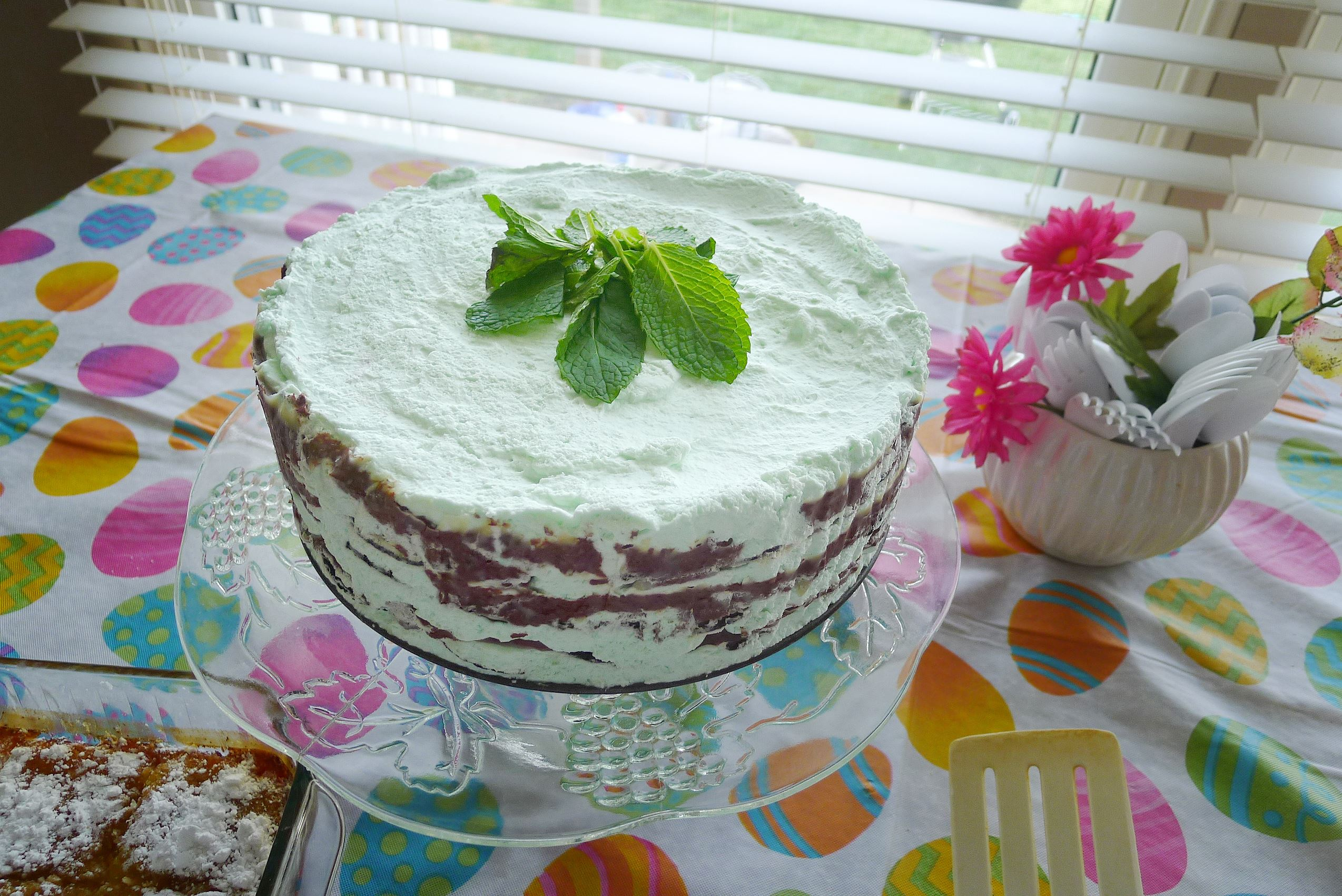 "... Mint Chocolate Icebox Cake from ""Icebox Cakes: Recipes for"