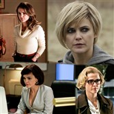 "The various looks of Keri Russell as Elizabeth Jennings on ""The Americans."""