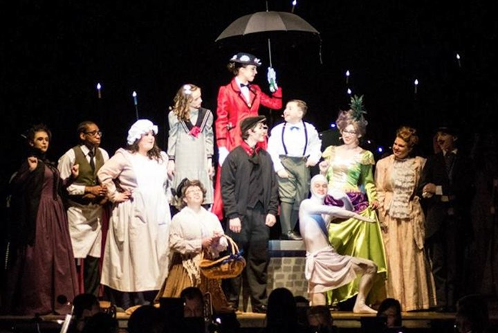 "2015KELLYNORTHGATE0814 The cast of ""Mary Poppins,"" the 2015 spring musical at Northgate High School."