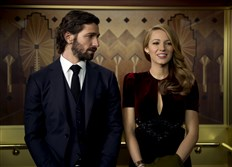 "Ellis Jones (Michiel Huisman) and Adaline Bowman (Blake Lively) in ""The Age of Adaline."""