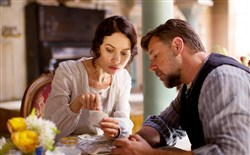 "Olga Kurylenko stars, and Russell Crowe directs and stars in the drama ""The Water Diviner."""