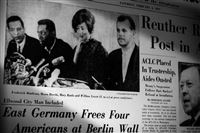 The Digs: Post-Gazette coverage of four Americans freed in East Germany.