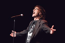 Donnie Iris at the Pittsburgh Rockin' Reunion at the Benedum Center in 2015.