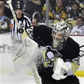 The Penguins still have the players who make up their core — such as goalie Marc-Andre Fleury — but can they pull off what the Chicago Blackhawks just did?
