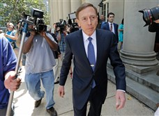 David H. Petraeus arrives at federal court today in Charlotte, N.C., for sentencing. Mr. Petraeus pleaded guilty to disclosing  classified information to his biographer. He was also accused of lying about it to F.B.I. agents.