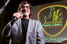 Pittsburgh's own Donnie Iris is inducted at the Pittsburgh Rock 'N Roll Legends Awards during the second annual gala benefiting the Cancer Caring Center at the Hard Rock Cafe, South Side. Other inductees were Lou Christie and the late Porky Chedwick.