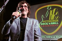 Pittsburgh's own Donnie Iris at the Pittsburgh Rock and Roll Legends induction in 2015.