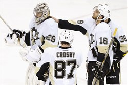 With stars like Sidney Crosby and Marc-Andre Fleury, Penguins coach Mike Johnston said he believes the team will be back in good shape next season.