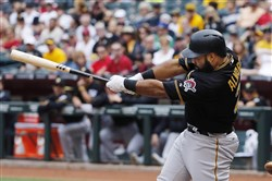Pedro Alvarez and the Pirates are making things work when they have two outs.