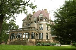 The Clayton mansion, the former home of Henry Clay Frick, in Point Breeze.