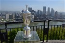 The U.S. Open trophy is displayed on Mt. Washington. The U.S. Open Championship Trophy Tour will involve a cross-country journey from the original home of the USGA in New York City to this year's host site at Chambers Bay in Tacoma, Wash. The 2016 U.S. Open will be played at Oakmont Country Club.