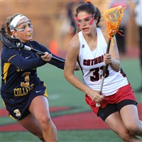 Alexis Bosilovic, a Hampton resident and a Sewickley Academy graduate, plays women's lacrosse for Catholic University and was recently selected to play for the Italian national team.