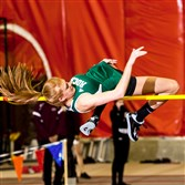 Slippery Rock's Ashley West, a Pine-Richland graduate, is among the top female high jumpers in NCAA Division II.