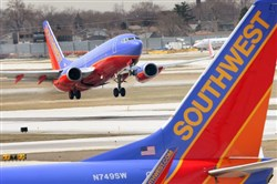 Southwest Airlines has more than tripled its number of daily flights and nonstop destinations from Pittsburgh International Airport.