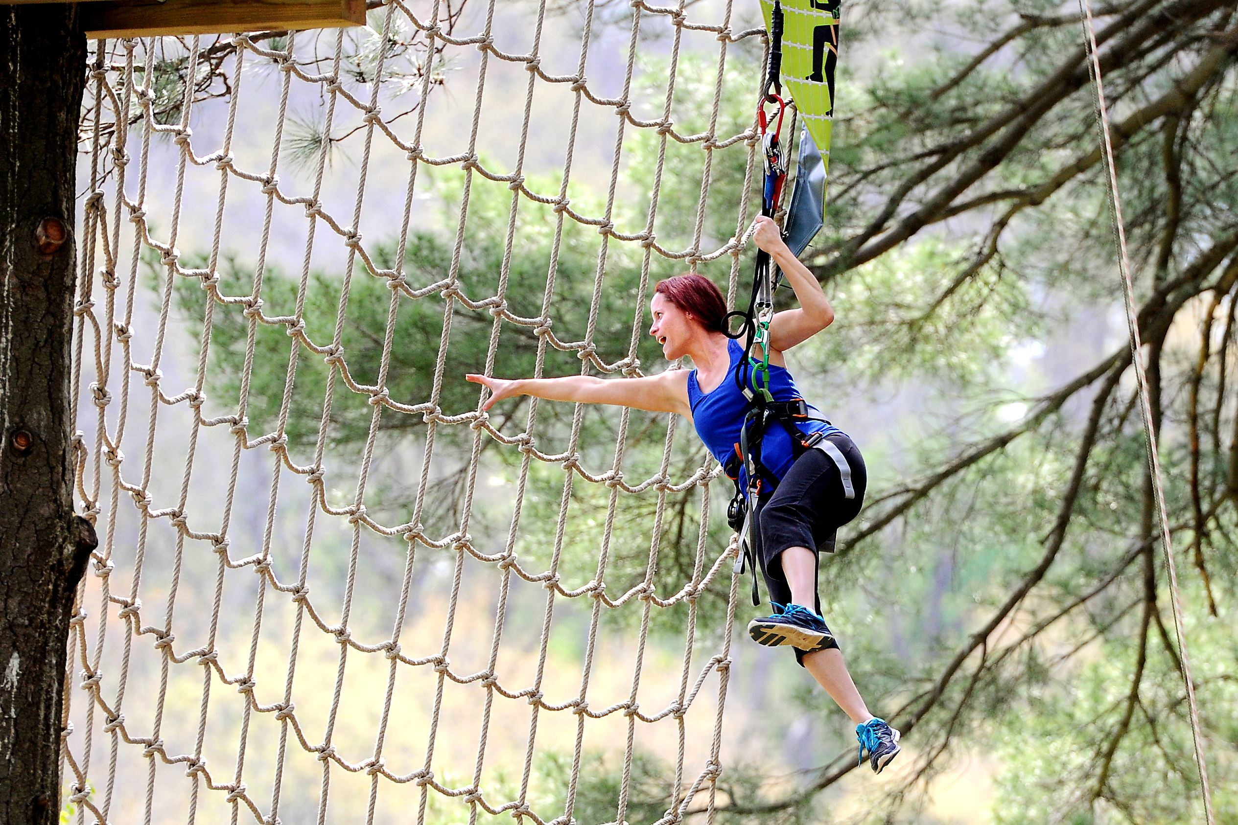 Zip-line Adventure Park After Labor Day, September 3, , the Zip-line Adventure Park will be open weekends only through October 14, Experience the gravity-defying thrill of flying through the trees 25 feet up at our newest adventure, the Ohiopyle Zip-line Adventure Park.