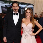 Joe Manganiello, left, and Sofia Vergara  arrive at The Metropolitan Museum of Art's Costume Institute benefit gala in May in New York.  The couple are expected to tie the knot this weekend in Florida.