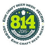This is the logo for the inaugural Erie Craft Beer Week, May 11 to 17.