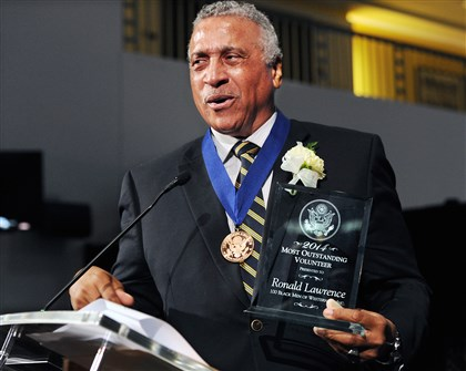 Ronald Lawrence, who founded the 100 Black Men of Western Pennsylvania, is the Most Outstanding Volunteer of the Year. He will represent Western Pennsylvania in the national Jefferson Awards this summer in Washington, D.C.