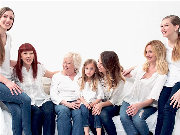 Dove Mother's Day ad features four generations of Beaver County family