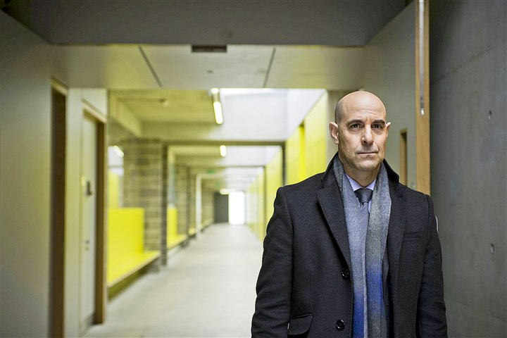 "Stanley Tucci The Arctic-set murder-mystery drama ""Fortitude,"" starring Stanley Tucci, marked relative newcomer cable network Pivot's first foray into expensive, scripted dramas when it debuted in January. A second season has been ordered."