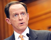Sen. Pat Toomey's push on a new gun bill appears to have quickly fallen short.