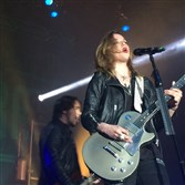 Halestorm singer Lizzy Hale performs May 6, 2015, at Stage AE.