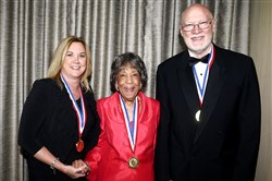 #SEENHonorees:  Suzie McConnell-Serio, Alma Speed Fox and William Whittaker.