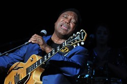 "George Benson, who grew up in the Hill District, performed in Pittsburgh on Saturday as part of his ""Greatest Hits Tour."""