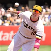 Pirates shortstop Jordy Mercer is hitting .176 with a .231 on-base percentage.