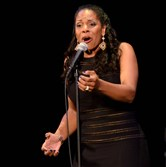 Tony Award-winning singer Audra McDonald performs at the Byham Theater Monday night.