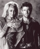 "Mel Gibson as Mad Max and Tina Turner as Aunty Entity in ""Mad Max Beyond Thunderdome"" from 1985."