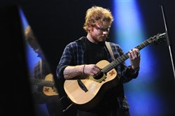 Ed Sheeran performed to a sold-out Consol Energy Center crowd Tuesday night.