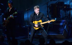 "John Mellencamp performs ""Troubled Man"" Tuesday night at the Benedum Center."