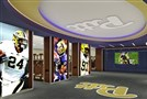 These renderings are of proposed renovations to Pitt's practice facility on the South Side.