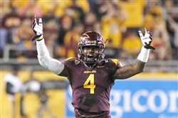 Steelers free-agent signing Alden Darby played defensive back at Arizona State, where coaches called him the Juice Man.