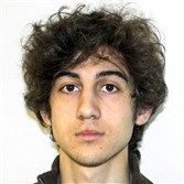 The only real suspense today was whether Dzhokhar Tsarnaev would say anything when given a chance to speak near the end of the proceedings.