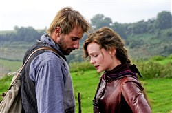 "Carey Mulligan and Matthias Schoenaerts in ""Far From The Madding Crowd."""