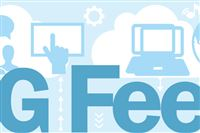 Logo for PG Feed, the Web desk's newsletter.