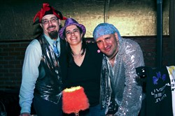 "Universal Beat Union -- Eric Steadle, Nancy Steadle and Paul Ferraro -- will celebrate the release of ""Super Red Giant"" Saturday at Thunderbird Cafe."
