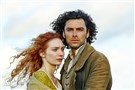 Shown from left to right: Eleanor Tomlinson as Demelza and Aidan Turner as Ross Poldark
