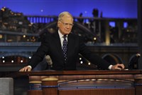 David Letterman ends his final broadcast of the Late Show with David Letterman, Wednesday May 20, 2015 on the CBS Television Network.