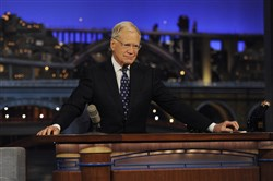 "David Letterman ends his final broadcast of the ""Late Show"" after 33 years in late night television, 6,028 broadcasts, nearly 20,000 total guest appearances, 16 Emmy Awards and more than 4,600 career Top Ten Lists."