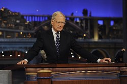 "David Letterman will appear next year on an episode of ""Years of Living Dangerously,"" a National Geographic Channel program that aims to draw attention to the effects of climate change."